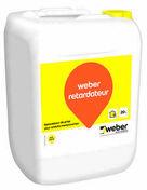 Retardateur de prise pour enduit monocouche WEBER.RETARDATEUR bidon de 20L - Adjuvants - Matériaux & Construction - GEDIMAT
