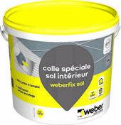 Mortier-colle WEBER.FIX SOL seau 8kg gris - Levier à plaque avec étrier en acier - Gedimat.fr
