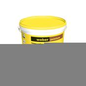 Peinture acrylique WEBER PEINTURE sceau de 20kg Beige brun teinte A047 - Bloc béton creux B40 NF ép.22,5cm haut.20cm long.50cm - Gedimat.fr