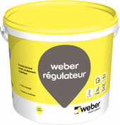 Couche de fond WEBER REGULATEUR pot de 20kg teinte 017 Blanc - Adjuvants - Matériaux & Construction - GEDIMAT