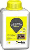 Primaire anticorrosion WEBER.REP FER bidon de 0,5kg - Grille aluminium NICOLL type persienne avec moustiquaire carrée 200x200mm coloris blanc - Gedimat.fr