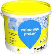 Protection à l'eau WEBER.SYS PROTEC seau de 20kg - Etanchéité sous carrelage - Revêtement Sols & Murs - GEDIMAT
