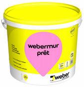 Enduit de lissage prêt à l'emploi WEBER.MUR PRÊT pot de 25kg - Enduits de lissage - Peinture & Droguerie - GEDIMAT