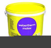 Colle et sous-enduit pour système d'isolation thermique par extérieur WEBER.THERM MOTEX sac de 25kg - Box encastrement mural - Gedimat.fr