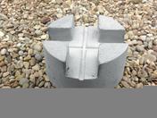 Plot béton pour terrasse bois - Poutre VULCAIN section 12x45 long.6,50m pour portée utile de 5.6 à 6.1m - Gedimat.fr