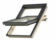 Fenêtre standard VELUX GGL MK04 type 3054 haut.98cm larg.78cm - Bloc-porte plane prépeint âme alvéolaire à recouvrement huisserie Néolys 90x49mm larg.83cm droit poussant - Gedimat.fr