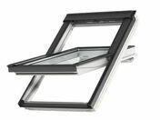 Fenêtre confort motorisée VELUX GGU INTEGRA SK06 type 007621 haut.118cm larg.114cm - Briquettes en grès cérame émaillé LONDON larg.6 cm long.25 cm ép.10 mm Sunset - Gedimat.fr