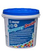 Mortier époxy bicomposant KERAPOXY DESIGN N°799 blanc fût de 3kg - classe R2 / RG - Plaque finition plafond 130 Carrée - Gedimat.fr