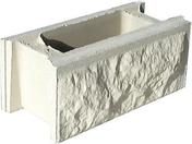 Elément de pilier BOSSELE 30x30cm haut.16,7cm coloris blanc cassé - Polystyrène expansé Knauf Therm TTI Th36 SE BA ép.170mm long.1,20m larg.1,00m - Gedimat.fr
