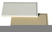 Plaquette de parement lisse ép.2,5cm long.40cm larg.16,7cm coloris ton pierre - Briques et Plaquettes de parement - Revêtement Sols & Murs - GEDIMAT