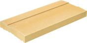Chaperon pour claustra plat haut.4cm larg.28cm long.49cm coloris gris - Attache FENO B taraudée M6, pour éléments suspendus sur panne bois - boite de 500 pièces - Gedimat.fr