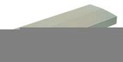 Chaperon CLASSIQUE 2 pentes haut.4cm larg.18cm long.49cm coloris gris - About de faitière à sec grande ouverture coloris rose - Gedimat.fr