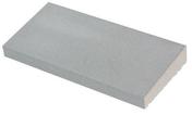 Chaperon CLASSIQUE 1 pente haut.4cm larg.23cm long.49cm coloris gris - Poinçon 3 éléments coloris rustique foncé - Gedimat.fr