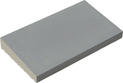 Chaperon CLASSIQUE 1 pente haut.4cm larg.28cm long.49cm coloris gris - Escalier hélicoïdal kit CIVIK diam.1,20m haut.2,52/3,05m finition gris - Gedimat.fr