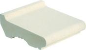 Tablette d'appui long.33cm larg.35cm ép.7,5cm coloris blanc cassé - Habillages de façade - Matériaux & Construction - GEDIMAT