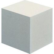 Cube en pierre reconstituée pour escalier LANGEAIS dim.17x17cm coloris blanc - Eléments pré-fabriqués - Matériaux & Construction - GEDIMAT