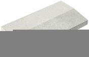 Chaperon CLASSIQUE 2 pentes haut.4cm larg.33cm long.49cm coloris blanc cassé - Doublage isolant plâtre + polystyrène PREGYSTYRENE TH32 ép.10+130mm larg.1,20m long.2,60m - Gedimat.fr