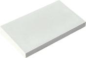 Chaperon CLASSIQUE 1 pente haut.4cm larg.33cm long.49cm coloris blanc cassé - Panneau de Particule Surfacé Mélaminé (PPSM) ép.8mm larg.2,07m long.2,80m Blanc Antik finition Perlé - Gedimat.fr