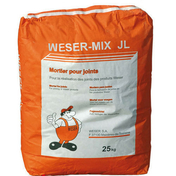 Mortier WESER MIX JL sac de 25kg ton pierre du lot - Enduit de parement traditionnel PARDECO TYROLIEN sac de 25kg coloris R119 - Gedimat.fr
