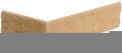 Plaquette d'angle INTERFIX IF371 ép.7mm larg.5cm long.20,5cm coloris ton jaune nuance - Chaterne-plateau diam.130mm pour tuiles ROMANE-CANAL coloris brun rustique - Gedimat.fr
