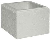 Elément de pilier CHAUMONT 35x35cm haut.25cm coloris blanc cassé - Enduit intérieur à la chaux UNILYS sac de 25kg - Gedimat.fr