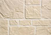 Plaquette de parement MUROK RUSTIC ép.1,5cm long.1m larg.68cm coloris blanc cassé - Porte coupe-feu EI30 (1/2h) en fibre de bois prépeinte haut.2,04m larg.93cm - Gedimat.fr