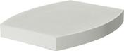 Chapeau OVALIS 46x46cm ép.6cm coloris blanc cassé - About d'arêtier ventilation TBF coloris brun rustique - Gedimat.fr