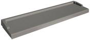 Appui de fenêtre LISS nez arrondi ép.6cm larg.35cm long.1,10m coloris gris - Rupteur longitudinal en transversal expansé long.60cm - Gedimat.fr