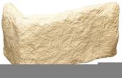 Plaquette d'angle MUROK BELMONTE long.1m larg.56cm coloris blanc cassé - Parements intérieurs - Revêtement Sols & Murs - GEDIMAT
