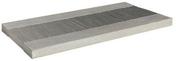 Dalle de cheminement en pierre reconstitu�e CAMARGUE dim.39x75cm coloris gris - Pav�s - Dallages - Mat�riaux & Construction - GEDIMAT