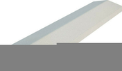 Chaperon CLASSIQUE 2 pentes haut.4cm larg.20cm long.99cm coloris blanc - Bloc-porte PORTALIT haut.2,04m larg.93cm cloison 70mm droit poussant mastic - Gedimat.fr