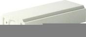Lisse pour balustrade gamme MEDITERRANEE long.49,5cm larg.21cm ep.10cm - Rencontre porte poinçon 4 ouvertures rondes coloris flammé rustique - Gedimat.fr