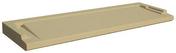 Seuil de porte spécial PMR ép.3,5cm larg.33,5cm long.1,00m coloris ton pierre - Eléments pré-fabriqués - Matériaux & Construction - GEDIMAT