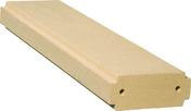 Lisse plate pour balustrades gamme CLASSIQUE long.99,5cm larg.24,5cm ép.10cm coloris pierre - Coude cuivre à souder femelle-femelle petit rayon 90CU angle 90° diam.14mm sous coque de 2 pièces - Gedimat.fr