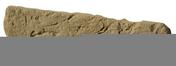 Plaquette GRANULIT G37 ép.1,1cm larg.5cm long.20,5cm coloris ton jaune antique - Tuile châtière ROMANE-CANAL coloris brun rustique - Gedimat.fr