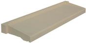Appui de fenêtre parasismique prof.35cm larg.50cm coloris ton pierre - Poutre VULCAIN section 20x45 cm long.5,00m pour portée utile de 4,1 à 4,60m - Gedimat.fr