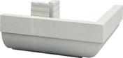 Corniche d'angle extérieur/sortant QUARD DE ROND 49x49cm haut.20,5cm coloris blanc cassé - Habillages de façade - Matériaux & Construction - GEDIMAT