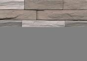 Plaquette de parement MUROK STRATO ép.1,5cm long.1m larg.50cm coloris gris terre - Tuille à douille ROMANE-CANAL diam.130mm coloris vieilli occitan - Gedimat.fr