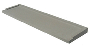 Seuil de porte CLASSIQUE ép.4,5cm larg.33,5cm long.90cm coloris gris - Porte de service isolante VANNES en PVC gauche poussant haut.2,00m larg.80cm - Gedimat.fr