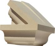 Fronton extrémité droite dim.35cm coloris ton pierre - Habillages de façade - Matériaux & Construction - GEDIMAT