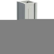 Trumeau avec embase pour balustrade haut.73cm gamme CLASSIQUE dim.32,5x32,5cm haut.74,5cm coloris blanc - Plaque de plâtre prépeinte SYNIA déco 4BA13 ép.12,5mm larg.1,20m long.3,60m - Gedimat.fr
