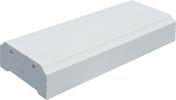 Lisse pour balustrade gamme SEVILLE plate 25 long.49.5cm larg.21cm ép.8cm - Caisson à galandage simple ESSENTIAL pour porte seule haut.2,04m larg.73cm - Gedimat.fr