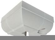Angle de corniche CG avec descente côté droit coloris ton pierre - Habillages de façade - Matériaux & Construction - GEDIMAT