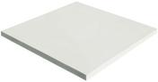 Dalle en pierre reconstitu�e FOURAS dim.50x50cm coloris blanc - Pav�s - Dallages - Mat�riaux & Construction - GEDIMAT