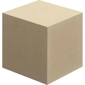 Cube en pierre reconstituée pour escalier dim.16x16cm coloris ton pierre - Eléments pré-fabriqués - Matériaux & Construction - GEDIMAT