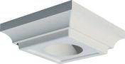 Chapiteau carré 37x37cm coloris blanc cassé - Porte d'entrée Aluminium FUYA avec isolation totale de 160mm droite poussant haut.2,15m larg.90cm laqué gris - Gedimat.fr