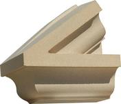 Fronton extrémité gauche dim.35cm coloris ton pierre - Habillages de façade - Matériaux & Construction - GEDIMAT