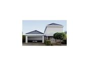 Porte de garage sectionnelle isolante panneau lisse �p.45mm haut.2,00m larg.2,375m coloris Gris 7016 - Portes de garage - Menuiserie & Am�nagement - GEDIMAT
