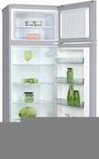 Réfrigérateur / congélateur pose libre ACCESSION 217L haut.1,43m larg.55cm prof.58cm silver - Réfrigérateurs - Cuisine - GEDIMAT