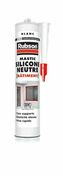 Mastic silicone RUBSON cartouche 280ml blanc - Joints - Plomberie - GEDIMAT